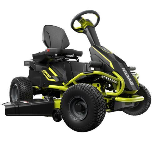 The Ryobi Battery-Powered Riding Lawn Mower (RM480E)
